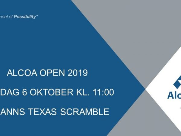 alcoa open 2019